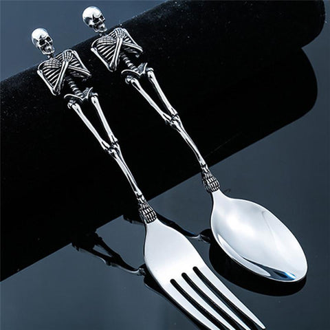 Stainless Steel Skeleton Flatware