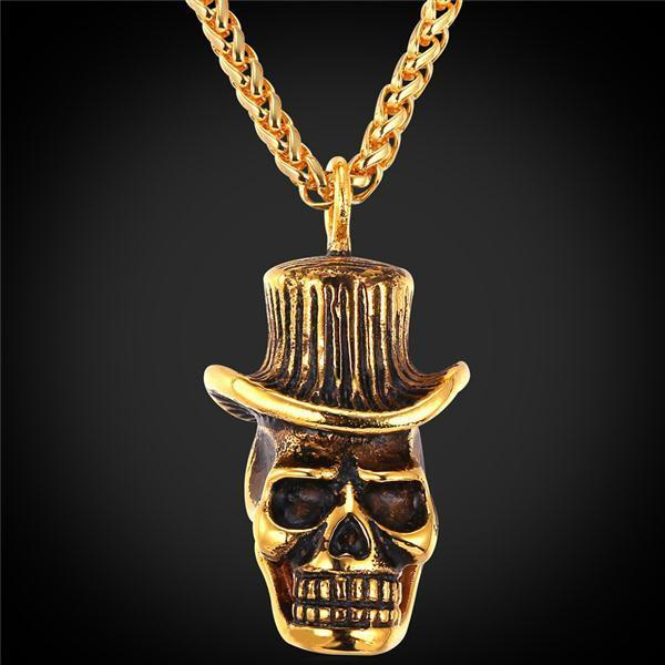 Lucky Skull Necklace