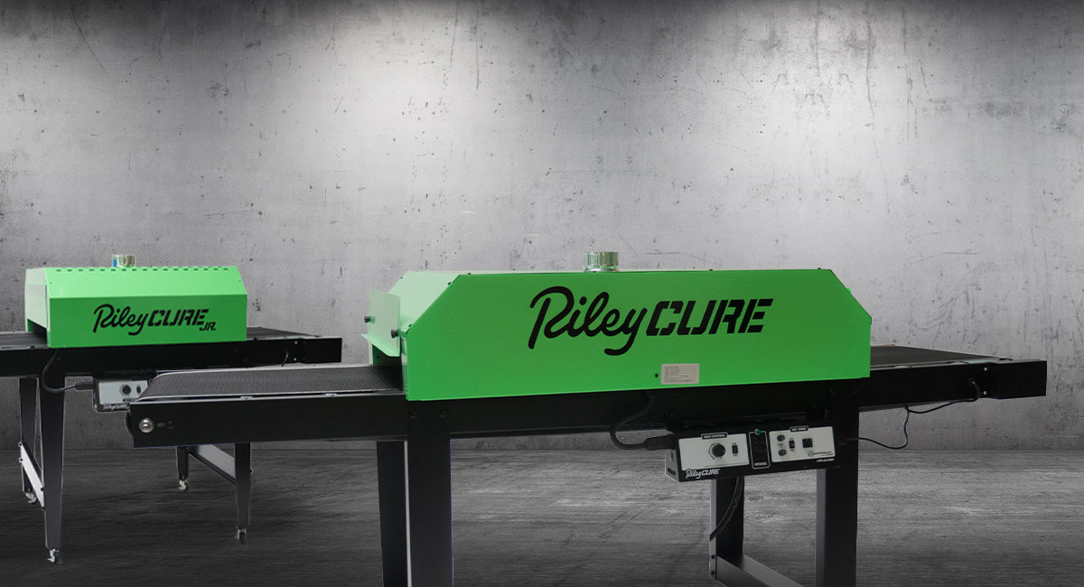 Conveyor Dryers On Sale. RileyCure JR and RileyCure Shown