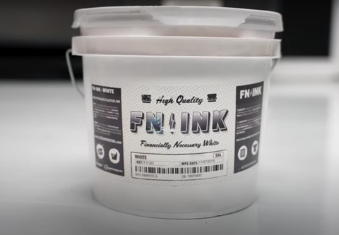 a gallon of white fn-ink