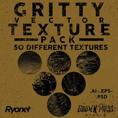 gritty vector texture pack
