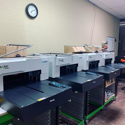 four dtg printers