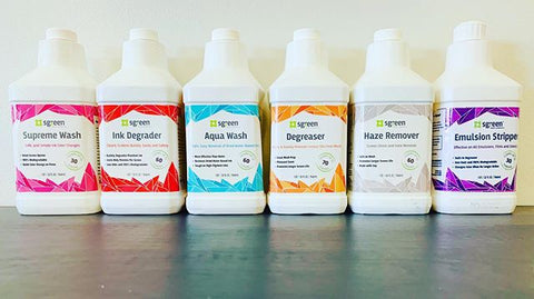 whole line of sgreen chemicals