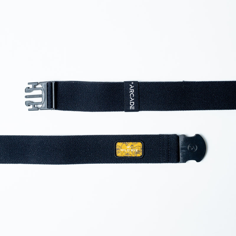 Arcade X Wild Rye Athletic Belt: Wild Poppy