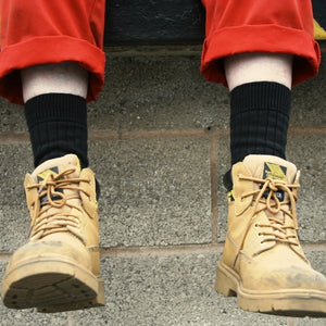 Keep Having to Buy New Socks for Work Boots? SockMine Socks are Made To Last