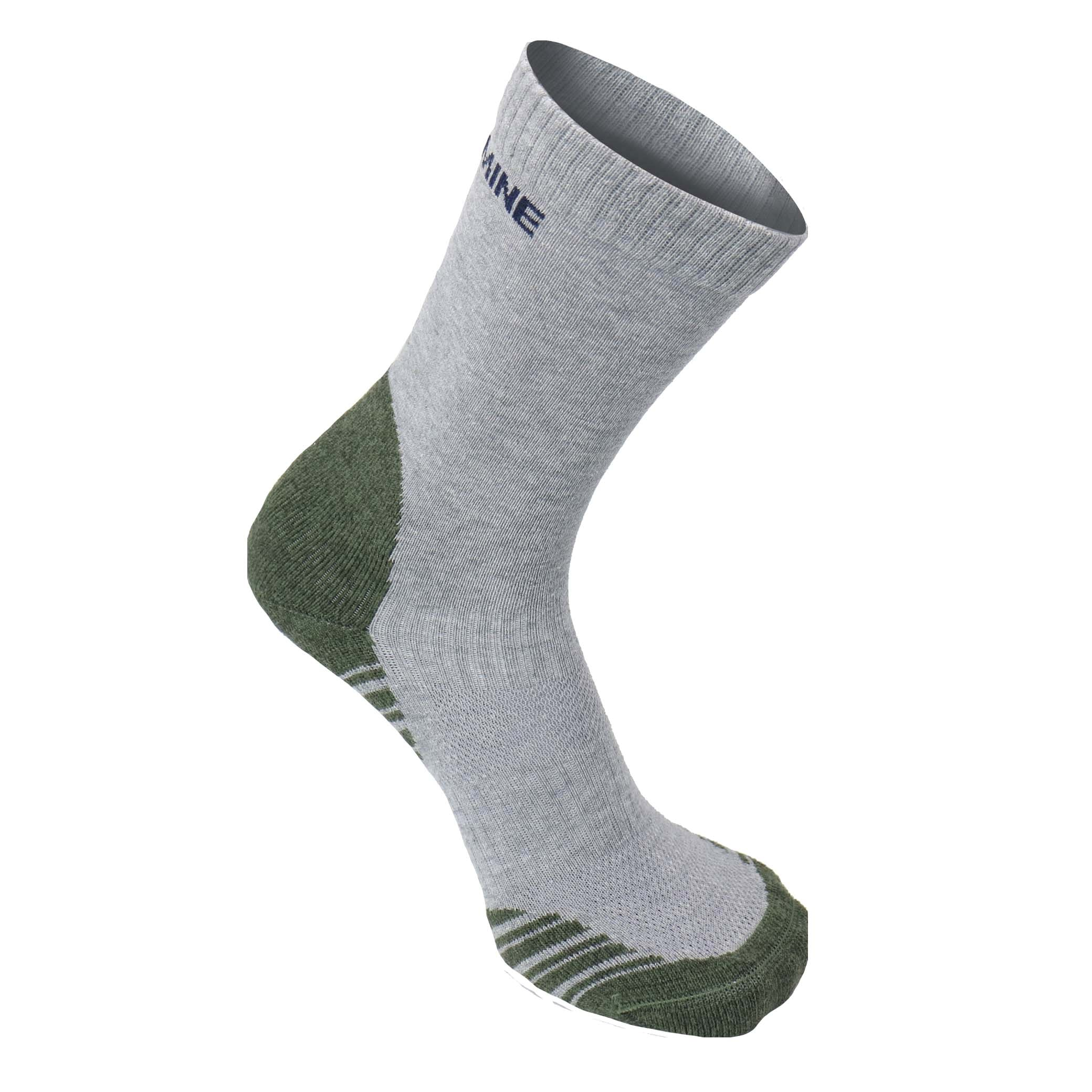 Tread Light Grey/Green with COOLMAX® and Merino
