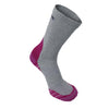 Tread Light Grey/Pink with COOLMAX® and Merino