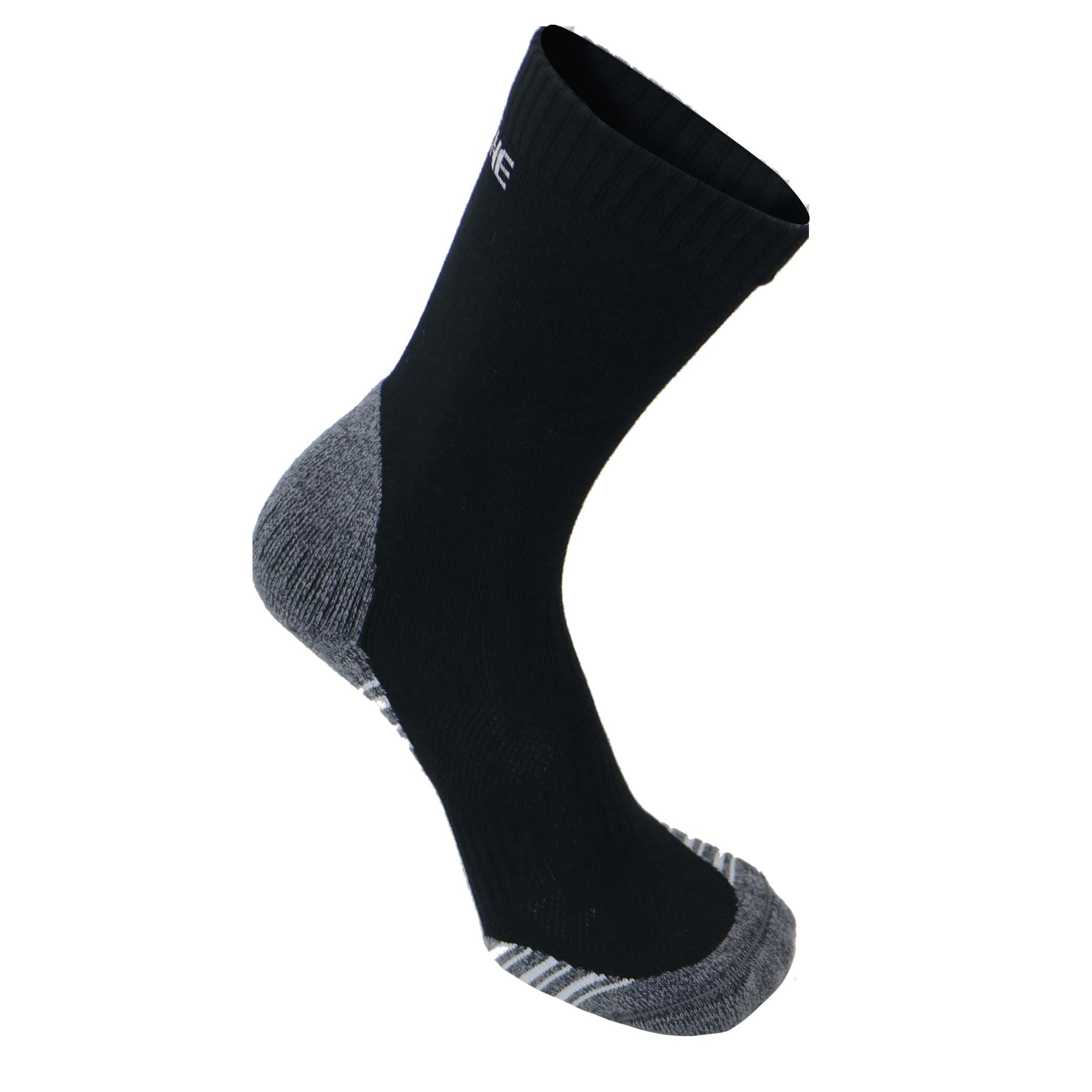 Tread Light Grey/Black with COOLMAX® and Merino