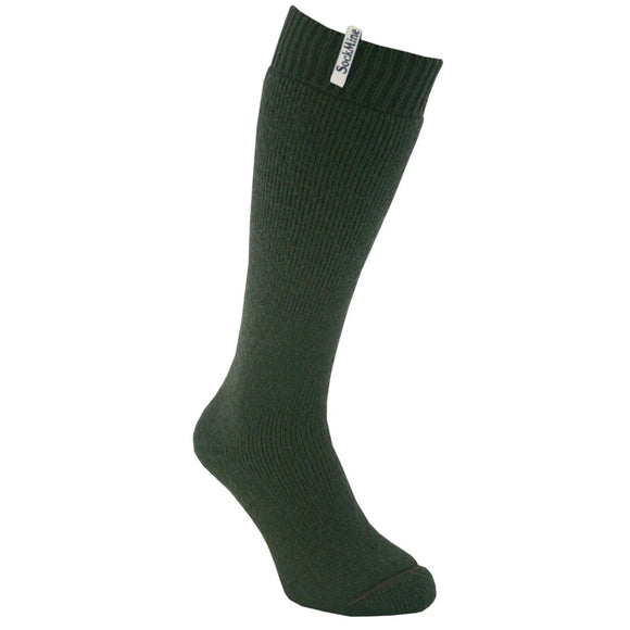 Welly Sock - Moss Green