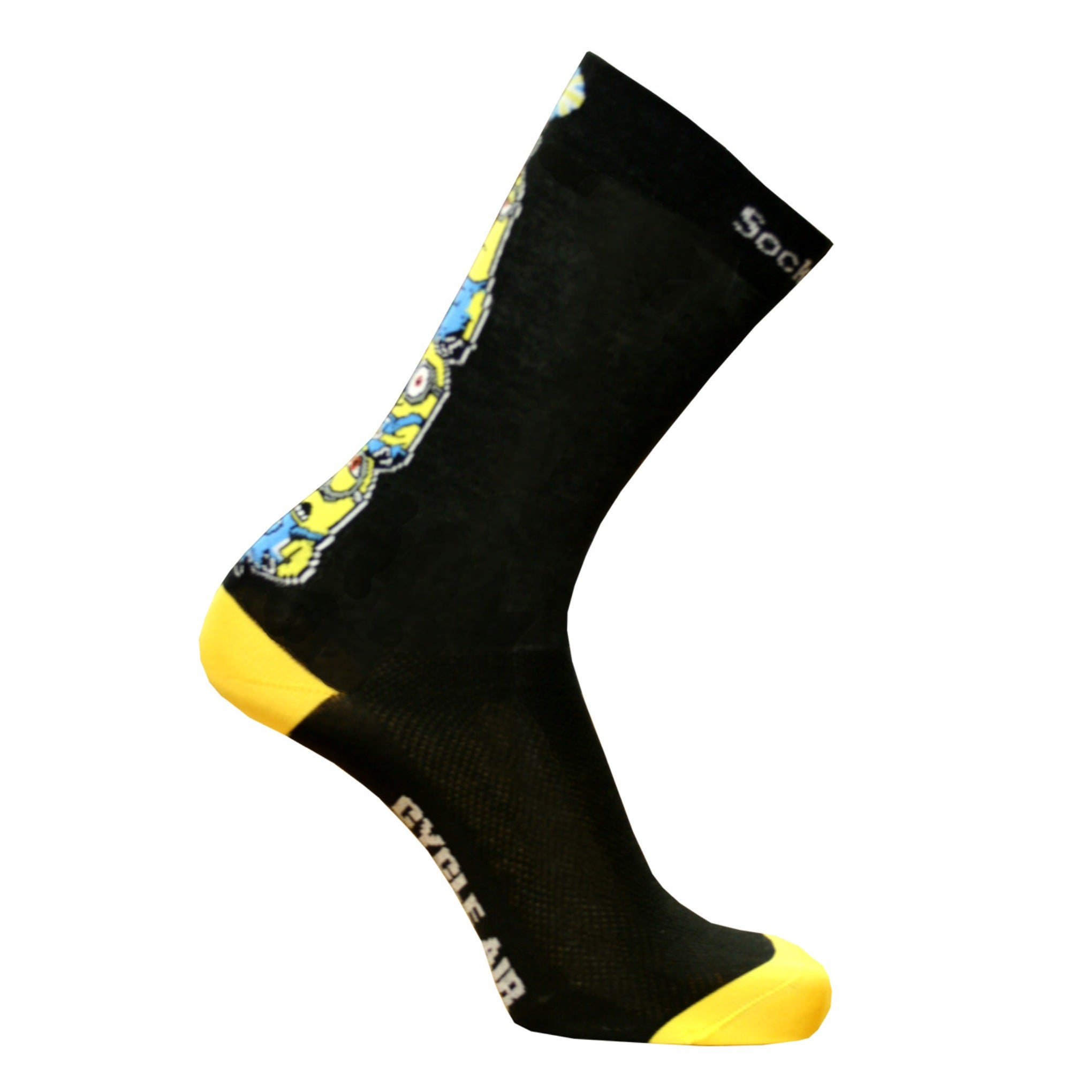 Minions Cycle Air Long Sock with COOLMAX®