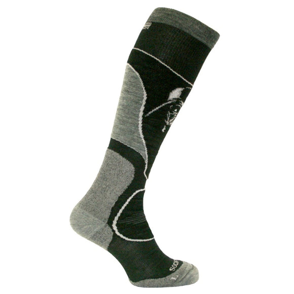 Darth Vadar Ultimate Snowboard Socks with Merino