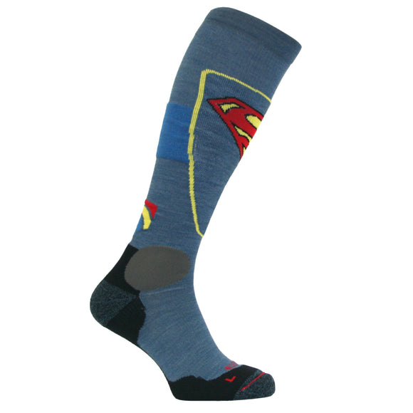 Superman Ultimate Ski Socks with Merino