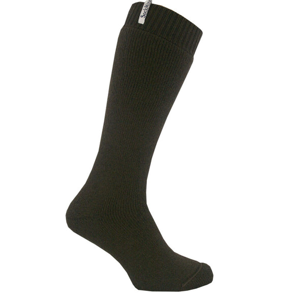 Welly Sock - Dark Brown