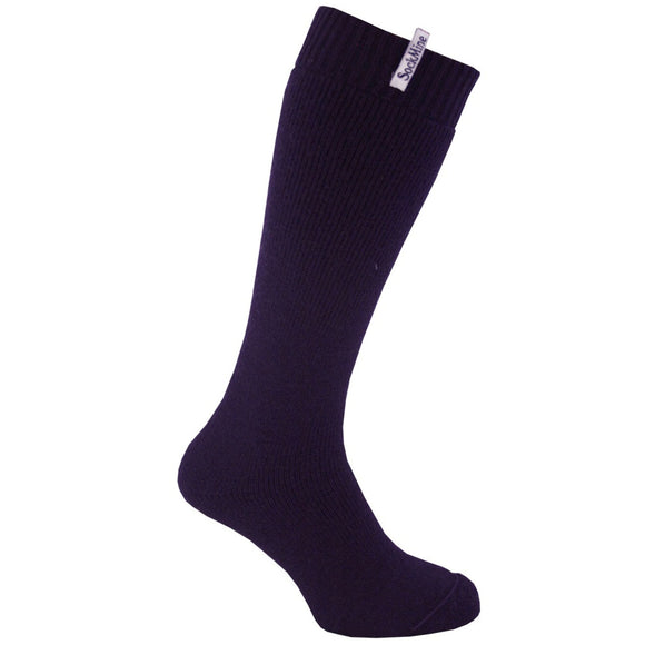 Welly Sock - Purple