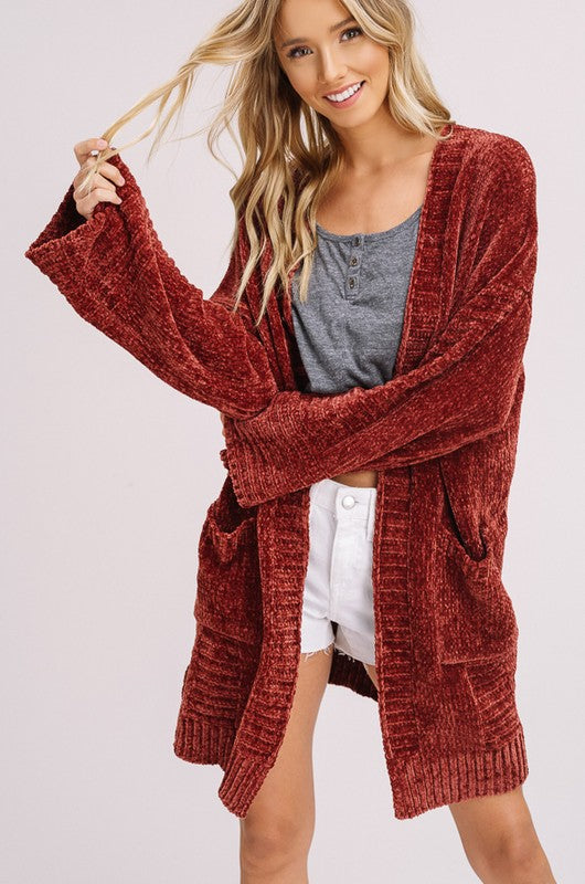 We have restocked some of your favorite cardigans and sweaters!