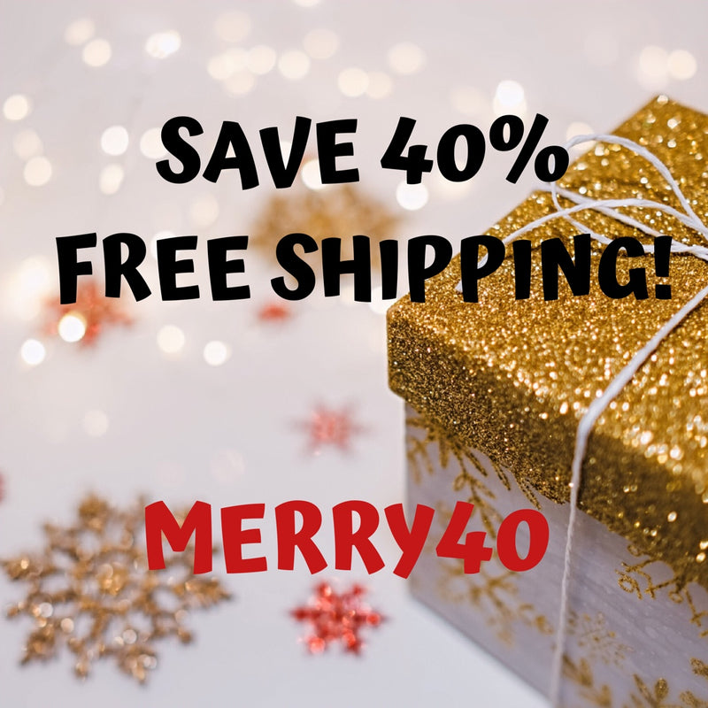 Save 40% and Get Free Shipping!