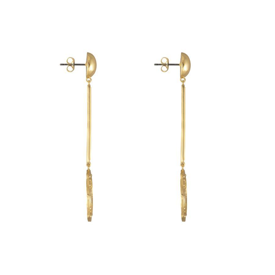 Jewelry - Solis Gold Drop Earrings
