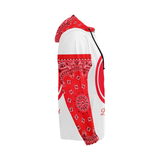 Bag Brand Red Hoodie All Over Print Full Zip Hoodie For Men (Model H14) - All Over Print Full Zip Hoodie For Men (H14)