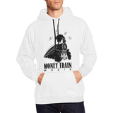 MoneyTrain Wht Men's All Over Print Hoodie (USA Size) (Model H13)