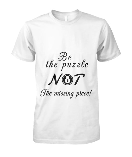 Be the Puzzle Unisex Cotton Tee - Bag-n-Go