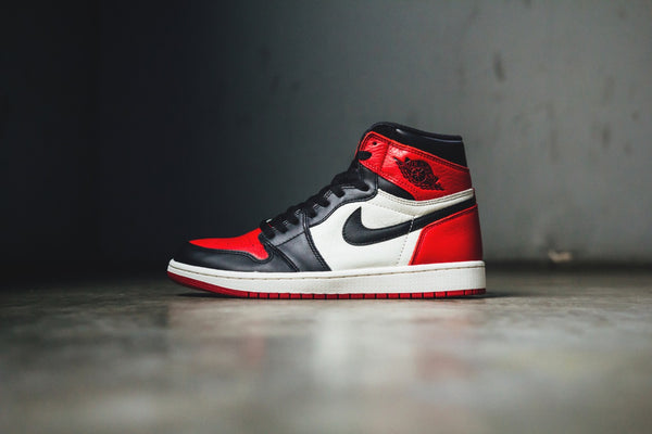 Air Jordan 1 Bred Toe - Lust México