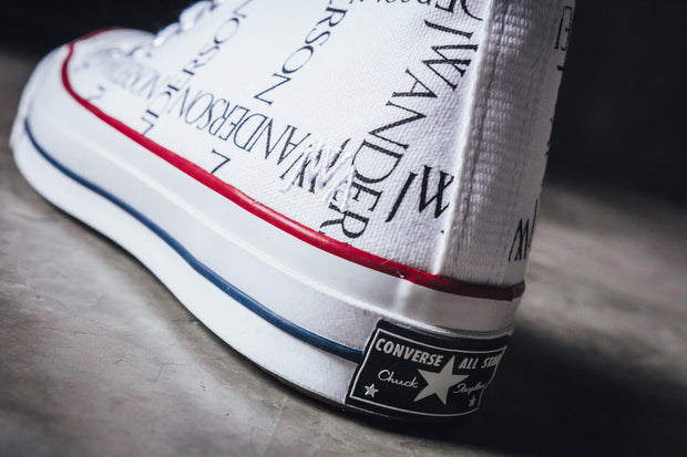 Converse Chuck 70s Hi x JW Anderson White/Black/Insignia Red - [color] - [sku] - Lust México