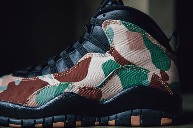 Air Jordan 10 Retro 'Woodland Camo'