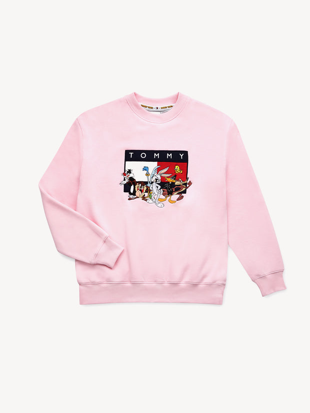 Wmns Tommy Jeans x Looney Tunes  Badge Sweatshirt - [color] - [sku] - Lust México