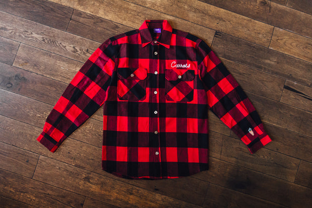 CARROTS SIGNATURE LUMBERJACK FLANNEL ROTHCO RED
