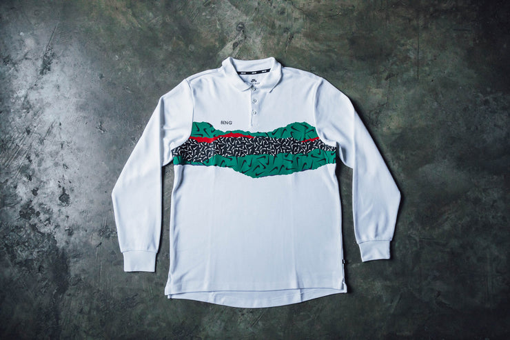 Nike SB x Ben-G Dry Long Sleeve Polo Shirt - [color] - [sku] - Lust México