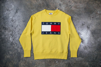 Tommy Jeans Sweatshirt Flag Crew