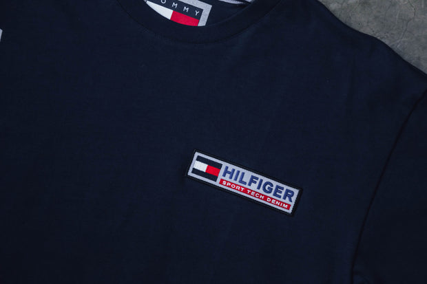 Tommy Hilfinger Sport Tech Denim Logo T-Shirt