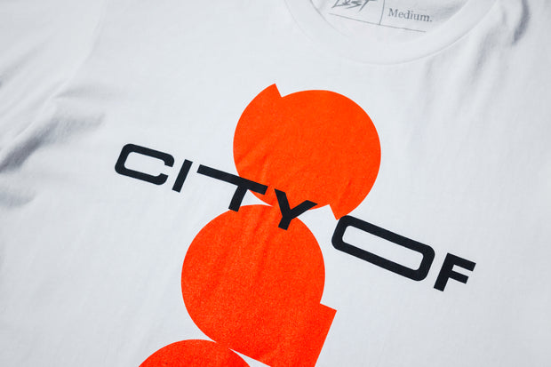 City Of Hoops - T-shirt Logo Alternative - [color] - [sku] - Lust México