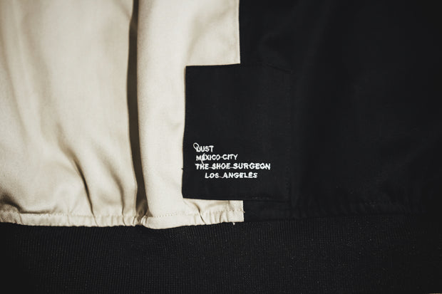 LUST X THE SHOE SURGEON BOMBER JACKET