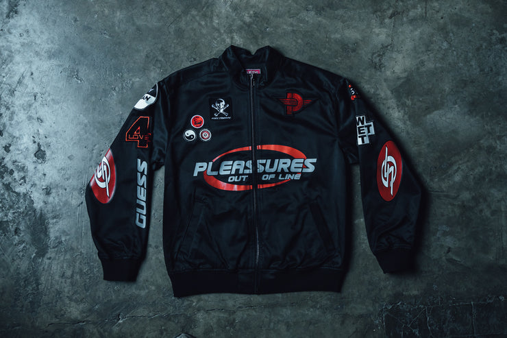 GUESS Sport x Pleasures Racing Jacket - [color] - [sku] - Lust México