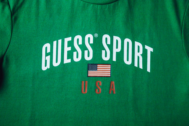 GUESS SPORT Flag Graphic Tee - [color] - [sku] - Lust México