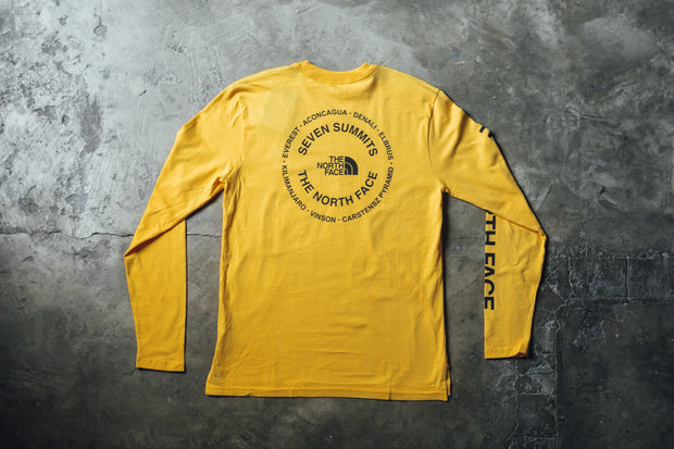"The North Face Ux Logo L/S Tee ""7 Summits"" - [color] - [sku] - Lust México"