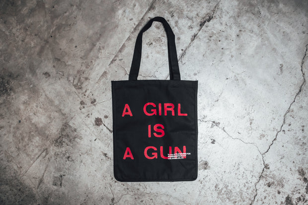 Girl is a Gun Tote - [color] - [sku] - Lust México
