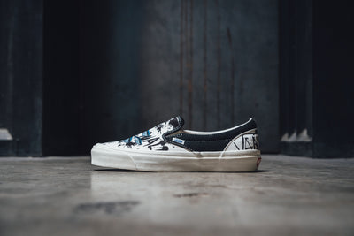 Ralph Steadman X Vans Slip-On 'Tuna'