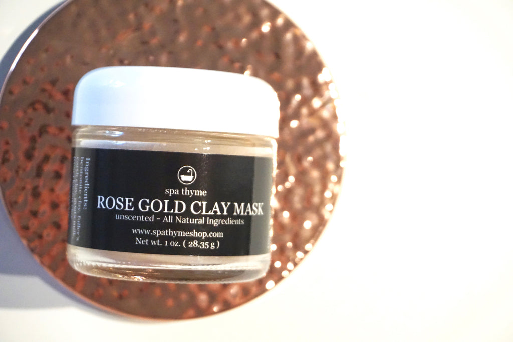 Rose Gold Clay Mask