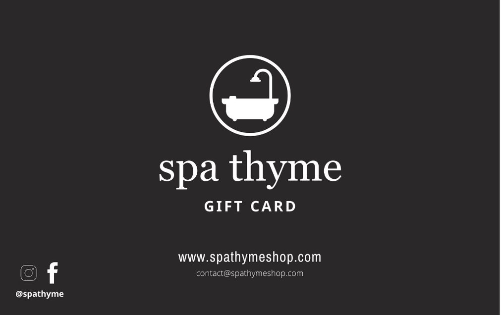 Spa Thyme Gift Card