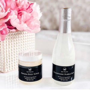 Champagne Mimosa Bath & Body Gift Set