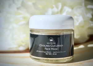 cucumber face mask-cucumber clay mask- clay masks