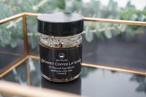 Coffee Lip Scrub - coffee gifts - lip scrub - sugar scrub
