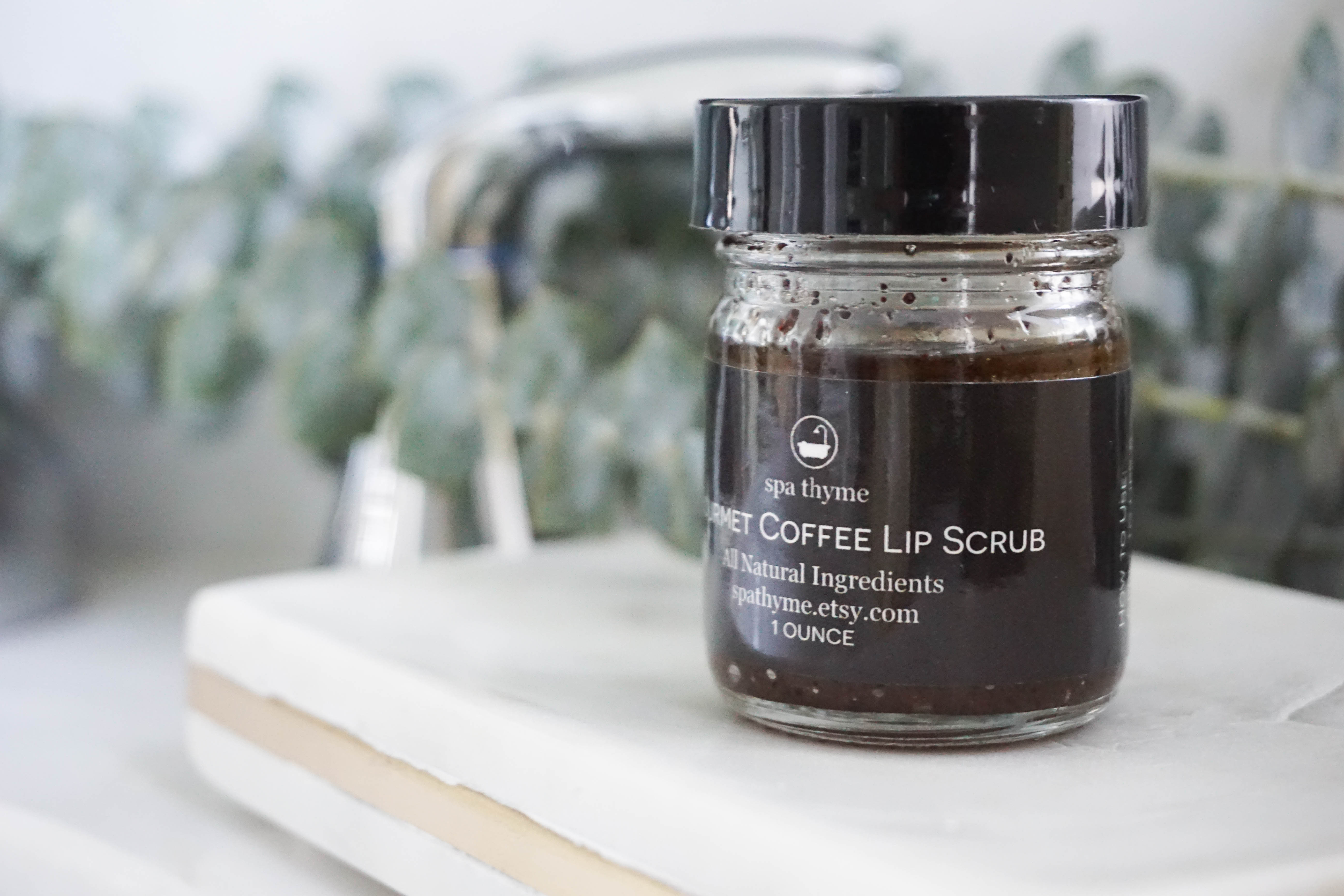 Handmade All Natural Gourmet Coffee Lip Scrub