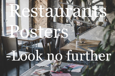 Restaurant Posters