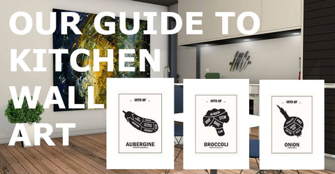 guide to kitchen wall art