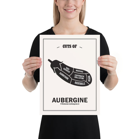 Cuts of Aubergine Poster