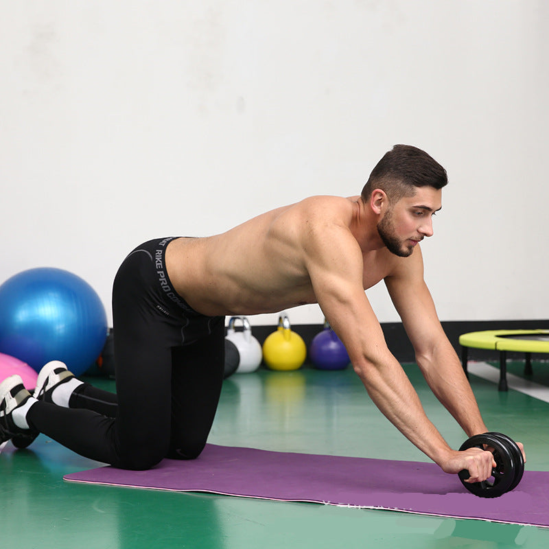 Roller Fit - Duplo ABS abdominal antiderrapante