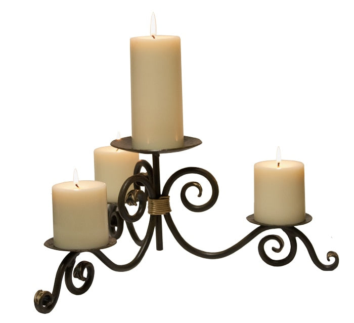 Stratford Iron Candle Holder - Penny's Passion's